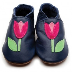 Shoe - Tulip Navy 0-6m , 6-12, 12-18m in sale (purple not navy)