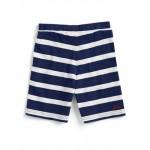 Shorts - Joules Boys Bucaneer- Navy Stripe 5, 6 in sale