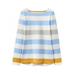 Adult - Top - Joules - Harbour -Blue Gold Bold Stripe -  Sale