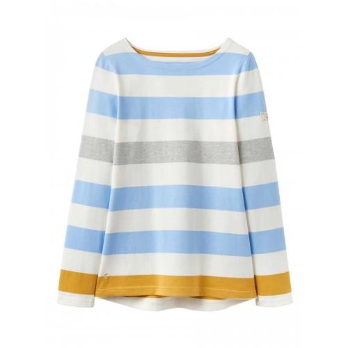 Adult - Top - Joules - Harbour -Blue Gold Bold Stripe -  Sale
