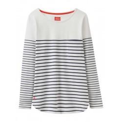ADULT - Top - Joules - Ladies - Sophia - Navy stripe - UK 12 - Sale