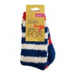 Socks - Joules - Boys Fluffy Socks, Creme in SALE - 9-12, 13-3