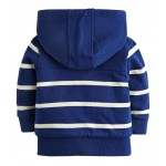 Jacket - Joules Boys Fleece Lined Full Zip Hoody LAST 6, 7 y in SALE