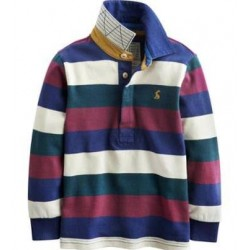 Sweatshirt - Joules  Boys Woodrow Multi Strip - 3, 6, 7y