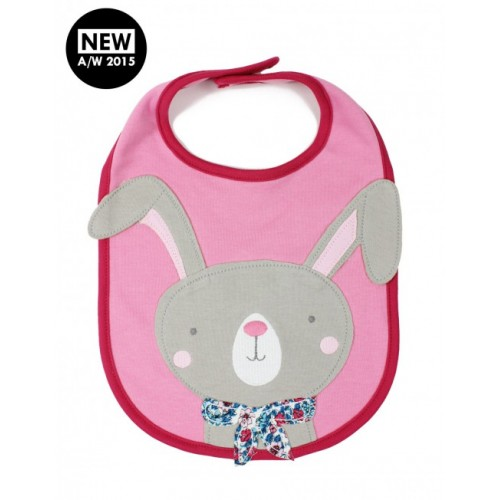 Bib - Joules - Marshmallow Bunny - last one in sale