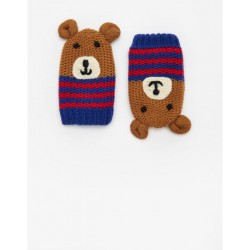 Gloves - Joules Baby bear mittens M/L 12 -24m  - sale