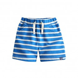 Shorts - Joules Baby Buddy - Electric blue stripe-   6-9m, 9-12m SALE