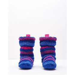 Slippers - Joules Girls Fluffy -  ( Medium only) 11-13 size - sale