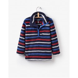 Fleece - Joules  Boys Woozle - multistripe 3-4, 9-10y SALE