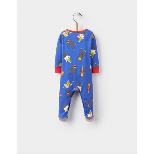 Babygrow - Joules Dazzling blue monkey  0-3m - last one in - CLEARANCE 45% off - No return