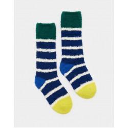 Socks - Joules Boys FLUFFY SOCKS in navy s/m  9-12,or m/l  13-13 shoe  - sale