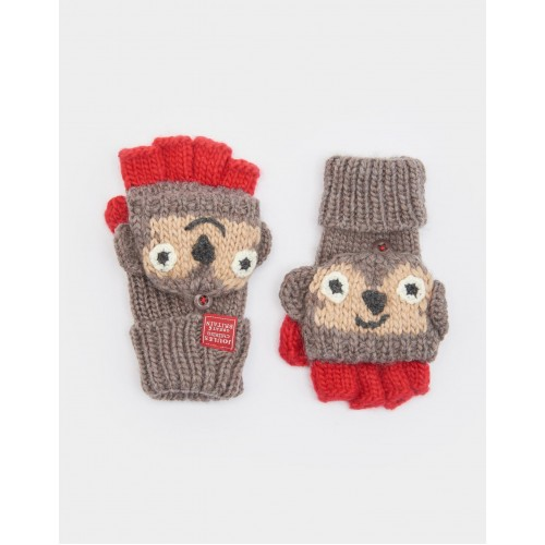 Gloves - Joules Boys - Monkey S/M: 4-7yrs