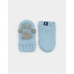 Gloves - Joules Baby Paw - sky blue - M/L: 12-24m - sale