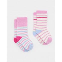Socks - Joules Baby Terry arm  - sky blue 6-12, , 1-2, 2-3y - sale