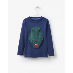 Top - Joules Boys Chomp Dino 7-8 last one now in sale