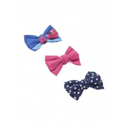 Hair - Girls Joules Bows - Blue Ditsy