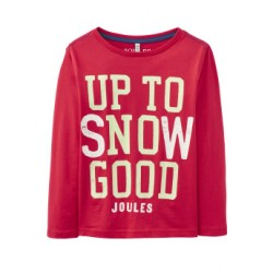 Top - Joules Boys - Raymond-  Glow in dark - Snow  5-6 (NO glows ) SALE