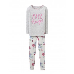 PJ - Joules Girls SLEEPWELL HUGS 3-4y last one