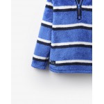 Fleece - Joules  Boys Woozle - dazzling stripe in 3-4y