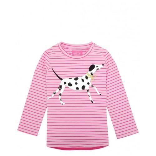 Top - Joules Baby Ava in Bon Bon Dog 6-9, 9-12m - sale