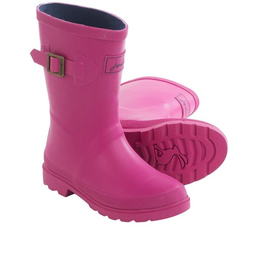 Boots - Joules-  Girls  - Field Welly Rain Boots - Ruby- shoe 10, 12, 13   (1x of each ) SALE