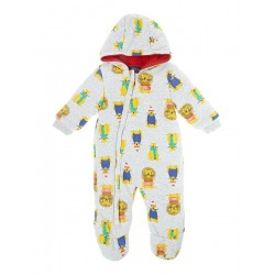 Pramsuit - Joules Baby Boy Winter - Grey lion 9-12, 18-24 in SALE