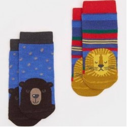 Socks - Joules Baby Lion 0-6m sale