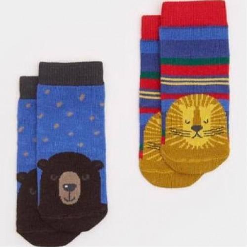 Socks - Joules Baby Lion 0-6m sale