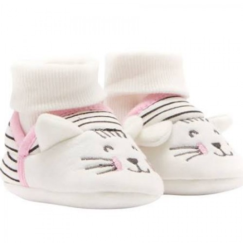 Slippers - Joules Baby - CAT stripy  6-12, 12-18