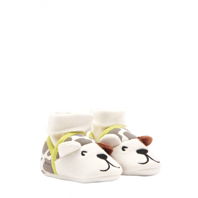 364c347743d54 Slipper - Joules Baby Slippers - Dog Size 0-6m , 6-12, 12-18m