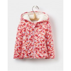 Fleece - Joules Baby COSETTE REVERSIBLE FLEECE - Cream ditsy 9-12, 12-18, 18-24m