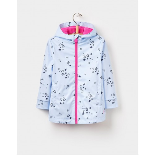 RAINCOAT - Joules - Girls - RAINDANCE WATERPROOF RUBBER COAT  - sky blue  - 1,  4,y  sale