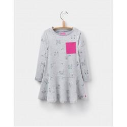 Dress - Joules Girls - JOSIE TRAPEZE DRESS - 3, 4,  6y