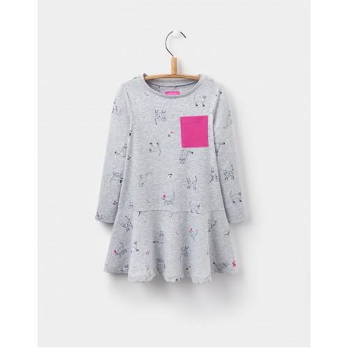 Dress - Joules Girls - JOSIE TRAPEZE DRESS - 3, 4,  6y sale