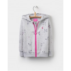 Jacket - Joules - KITTY HOODED JACKET - 2, 3, 4, 5, 6y