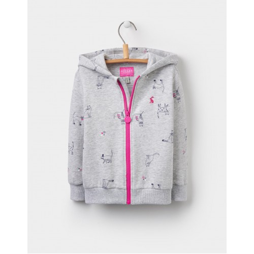 Jacket - Joules - KITTY cat  HOODED JACKET - 2, 3, 4, 5, 6y