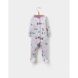 Babygrow  - Joules Baby Razamataz - grey marl cat - 0-3, 6-9