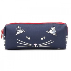 Pencil Case - Joules French Navy Pencil Case - Cat -