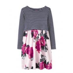 Dress - JOULES  LAYLA DRESS - rose pink floral - 6y - sale