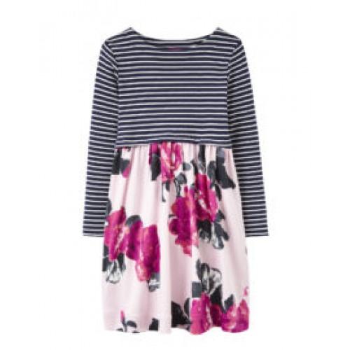 Dress - JOULES  LAYLA DRESS - rose pink floral - 6y - Sale last one