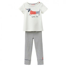 Set - Joules Baby Stevie - Sausage Dog  - 9-12m  - sale