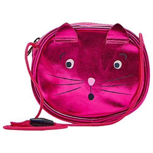 Bag -  Joules -  Children's Cat Party Bag, Pink