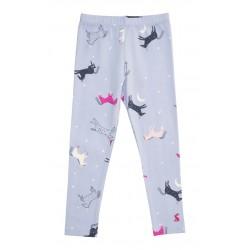 Leggings - Joules Girls - sky blue dancing unicorns - 1 y