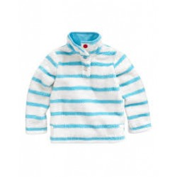 Fleece -  Joules turquoise stripe -  3,4,y - SALE