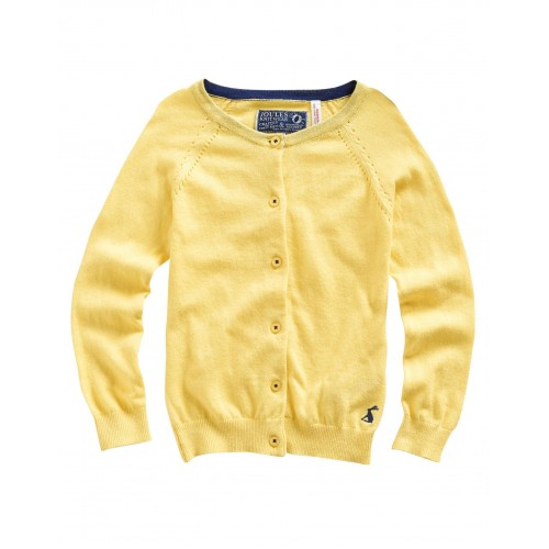 Cardi - Joules Girls , Yellow  -  last one in sale  7y
