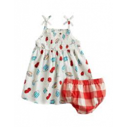 Set - Joules  Baby Girls Sun Dress SET  in SALE  6-9, 9-12m