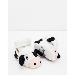 Slippers - Joules Baby - COW  12-18m - sale
