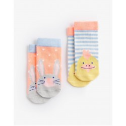 Socks - Joules Baby Easter 1-2y (4-5 shoe)