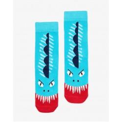 Socks - Joules Boys Monster (s/m) 9-12 shoe