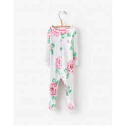 Babygrow - Joules Bright Flower  6-9, 9-12m - SALE